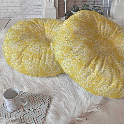 Lotus Floor Pillow Size: 23 H x 23 W x 6 D