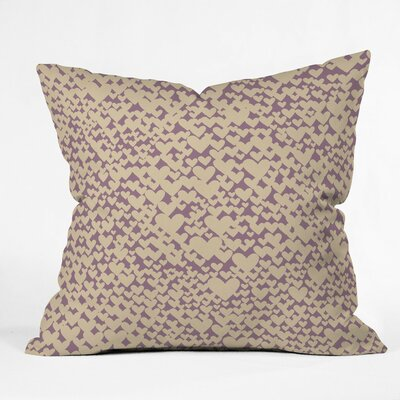 Clary Outdoor Throw Pillow Size: 16 H x 16 W x 4 D