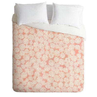 Dedmon Dahlias Duvet Cover Set Size: Queen