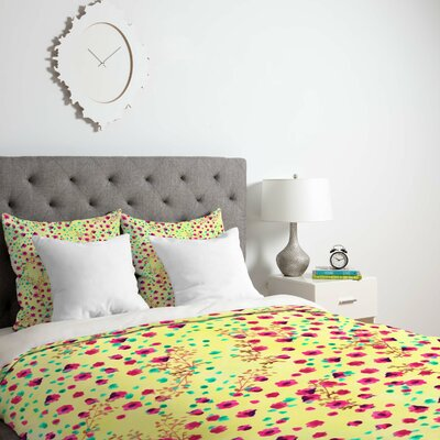 Dedmon Duvet Cover Size: Queen, Fabric: Lightweight