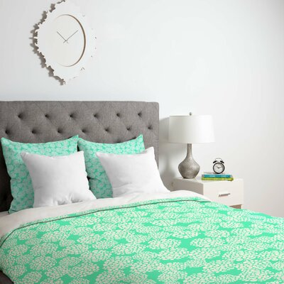 Dedmon Duvet Cover Size: King, Fabric: Lightweight