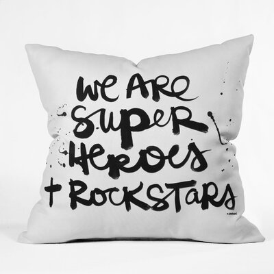 Colclough Superheroes Throw Pillow Size: Medium