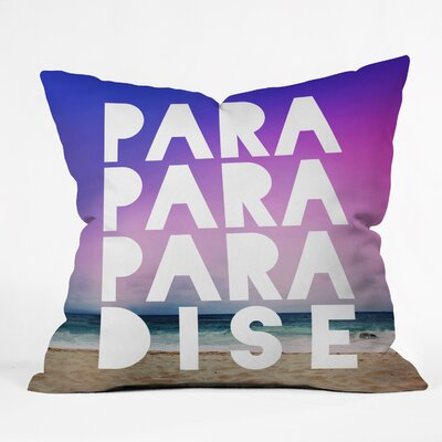 Gottschalk Paradise Indoor/Outdoor Throw Pillow Size: Small