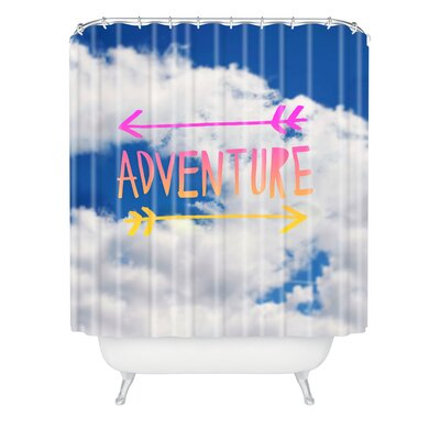 Bruss Adventure Sky Polyester Shower Curtain