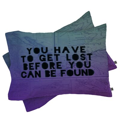 Gomes Lost x Found Pillowcase Size: Standard