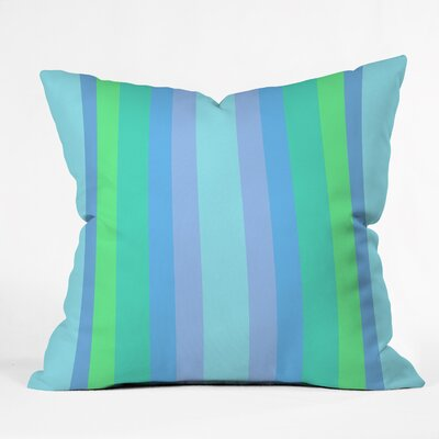 Edmundson Caribbean Cool Indoor/Outdoor Throw Pillow Size: Small