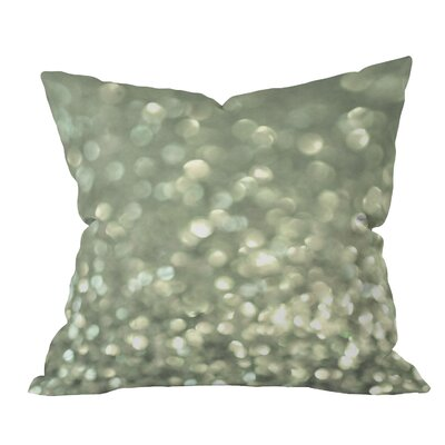 Bangert Mingle Silver Screen Throw Pillow Size: Large