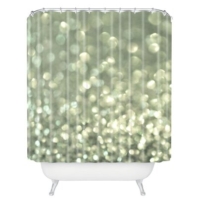 Brayden Studio Dunford Mingle 2 Silver Screen Shower Curtain