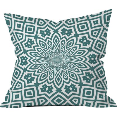 Goodrow Helena Indoor/Outdoor Throw Pillow Size: 16 H x 16 W x 4 D