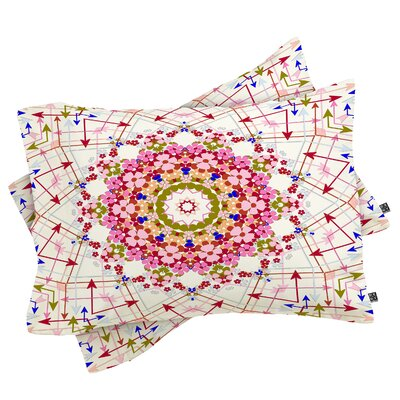 Dewberry Every Which Way Pillowcase Size: King