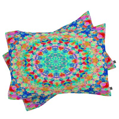 Beahm Geometria Pillowcase Size: King
