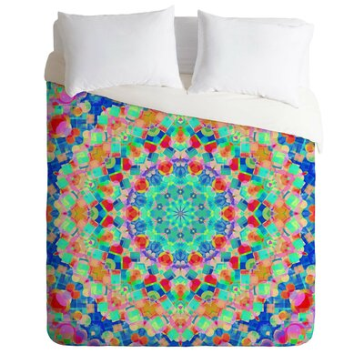 Brito Geometria Lightweight Duvet Cover Size: King
