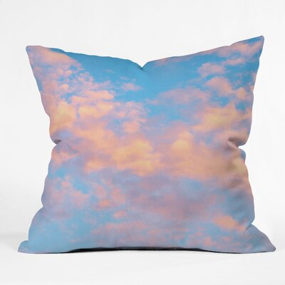Atnip Dream Beyond the Sky Throw Pillow Size: 16 H x 16 W x 4 D