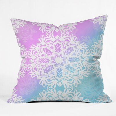 Bower Winter Land Indoor/Outdoor Throw Pillow Size: Small