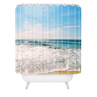 Boren Take Me There Extra Long Shower Curtain