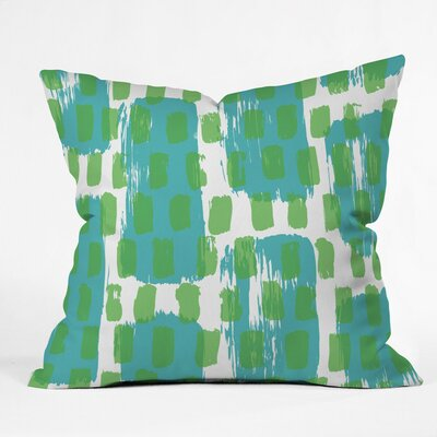 Caston Paint Play One Outdoor Throw Pillow