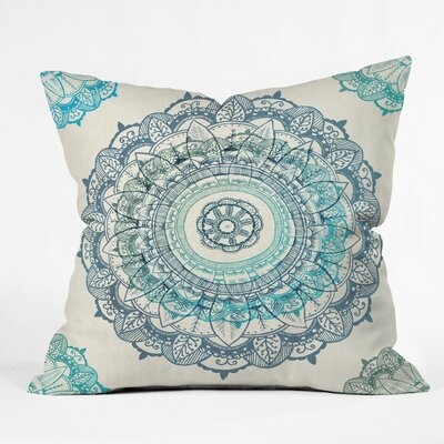 Bourg Mandala Outdoor Throw Pillow Size: 16 H x 16 W x 4 D