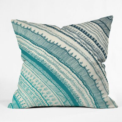 Dehart Outdoor Throw Pillow Size: 18 H x 18 W x 5 D