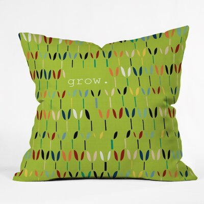 Bourg Grow Indoor/Outdoor Throw Pillow Size: Large