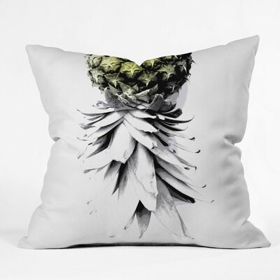 Cervantez Pineapple 1 Outdoor Throw Pillow Size: 16 H x 16 W x 4 D
