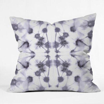 Fishel Mirror Dye Stone Outdoor Throw Pillow Size: 18 H x 18 W x 5 D