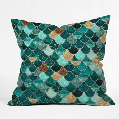 Granado Really Mermaid Outdoor Throw Pillow Size: 18 H x 18 W x 5 D