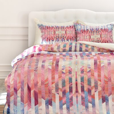 Culligan Kei Minsk Duvet Cover Set Size: Queen