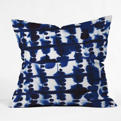 Fishel Parallel Outdoor Throw Pillow Size: 16 H x 16 W x 4 D