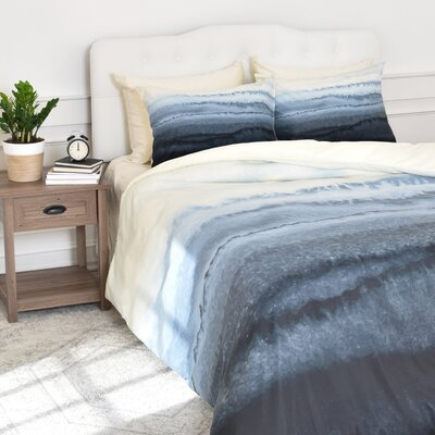 Granado Within the Tides Stormy Weather Duvet Cover Set Size: King