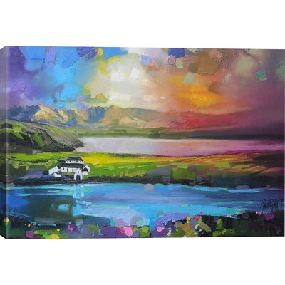 Gesto Farm Skye Canvas Print