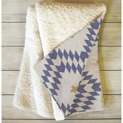 Flemings Native Natural Plus Night Fleece Throw Blanket Size: 60 L x 50 W