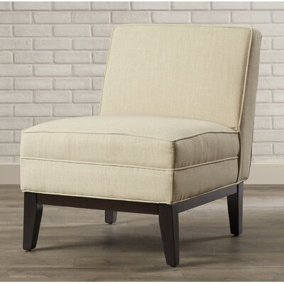 Mayberry Slipper Chair Color: Wheat