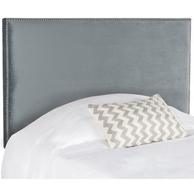 Syndey Full Upholstered Panel Headboard Upholstery: Wedgwood Blue