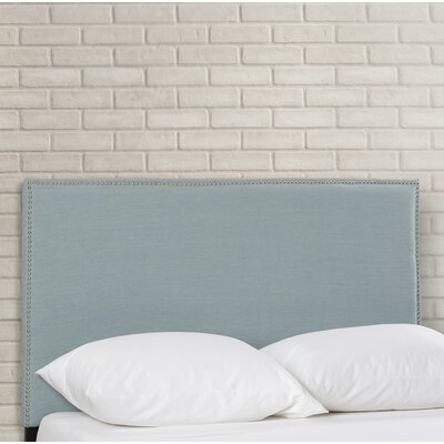 Syndey Full Upholstered Panel Headboard Upholstery: Sky Blue