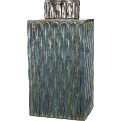 Ceramic Lidded Decorative Box