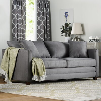 Aristocles Innerspring Queen Sleeper Sofa Upholstery: Charcoal