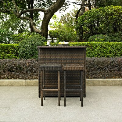 3-Piece Jenna Patio Bar Set