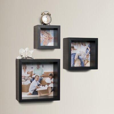 3-Piece Cube Picture Frame Set