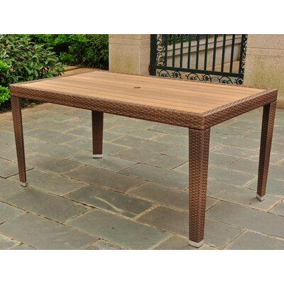 Katzer Dining Table Finish: Antique Brown