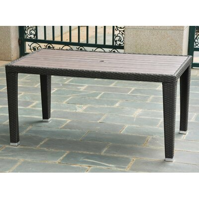 Katzer Dining Table Finish: Antique Black