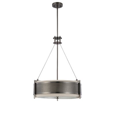 Ferriera 4-Light Drum Pendant