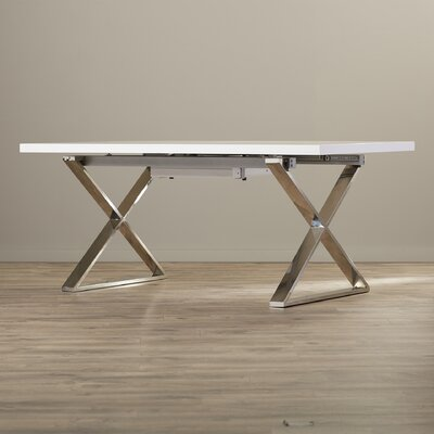 Mathison Extendable Dining Table Finish: White