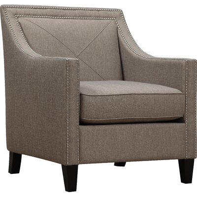 Routh Armchair Upholstery: Light Gray