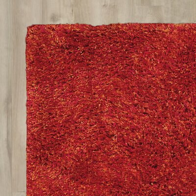 Tran Flame Area Rug Rug Size: Rectangle 23 x 39