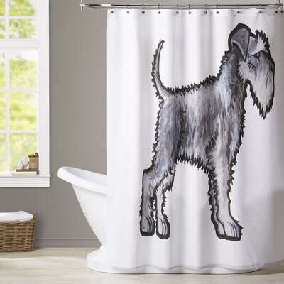 Brott Schnauzer Shower Curtain