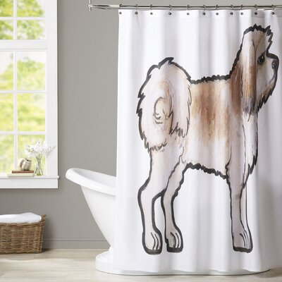 Demeo Lhasa Apso Shower Curtain