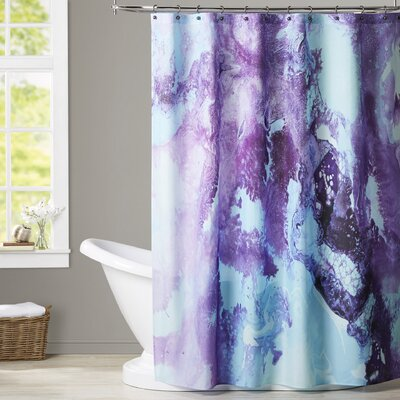 Deb McNaughton Bubbles Shower Curtain