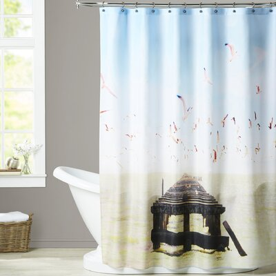 Mina Teslaru Berkeley Marina Shower Curtain