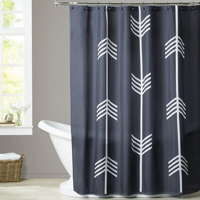 Melinda Wood Three Tribal Arrows Shower Curtain