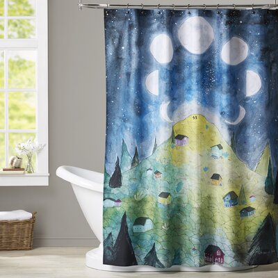 Peltier Shower Curtain